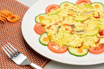 Omleta din tofu –  vegan