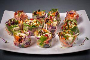 Pachetele de primavara catering - raw
