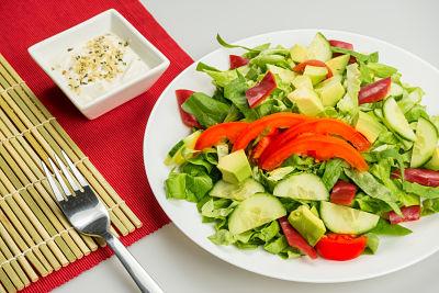 Salata Caesar – raw