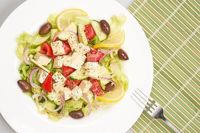 Salata greceasca – raw