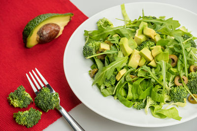 Salata verde crud – raw