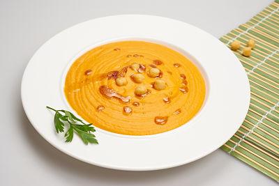 Supa crema de naut – vegan