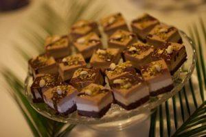 Tort caramel - raw