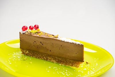 Tort de ciocolata – raw