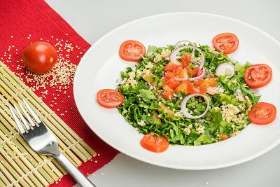 Tabbouleh – raw vegan 1