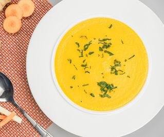 supa crema de morcov