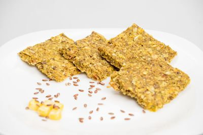 Pâine – Crackers porumb si ardei capia – raw